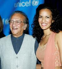 Ravi Shankar and Anoushka Shankar at the UNICEF Goodwill Gala: 50 Years of Celebrity Advocacy event.