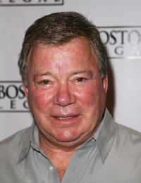 William Shatner at the Writers Guild of America for