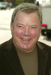 William Shatner at the ABC Upfront.
