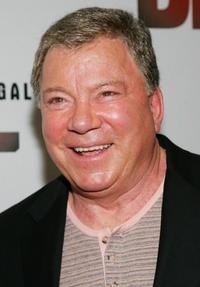 William Shatner at the DVD release celebration for