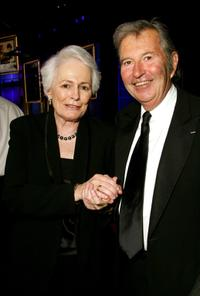 Jean Picker Firstenberg and Robert Shaye at the 35th AFI Life Achievement Award.