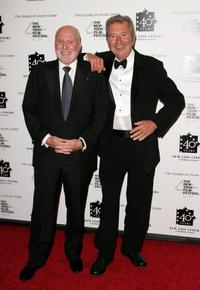 Michael Lynne and Robert Shaye at the New Line Cinema's 40th Anniversary celebration.