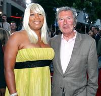 Queen Latifah and Robert Shaye at the Los Angeles premiere of