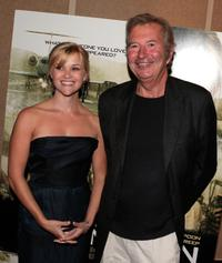 Reese Witherspoon and Robert Shaye at the Los Angeles premiere of