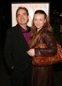Harry Shearer and Judith Owen at the premiere of