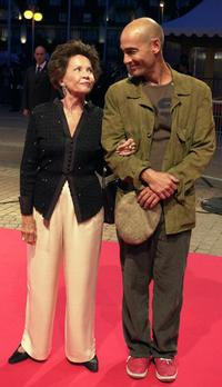 Leslie Caron and Jean-Marc Barr at the 29th American Film Festival for avant-premiere of
