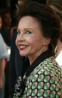 Leslie Caron at the Cinema Against AIDS Gala Screening of