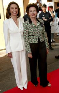 Leslie Caron and Barbara Grant at the Cinema Against AIDS Gala Screening of