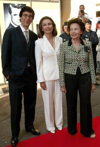 Leslie Caron, Robert Trachtenberg and Barbara Grant at the Cinema Against AIDS Gala Screening of