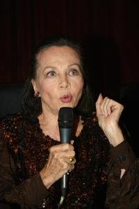 Leslie Caron at the Cairo international film festival.