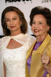 Leslie Caron and Barbara Grant at the
