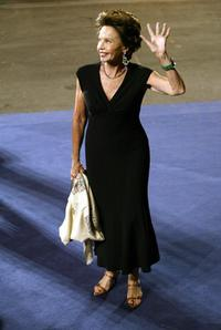 Leslie Caron at the Venice Lido for the premiere of her film