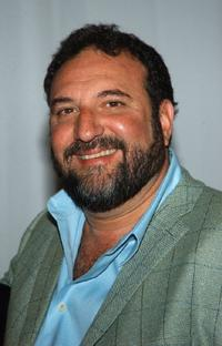 Joel Silver at the unveiling of the Paris Hilton wax figure.