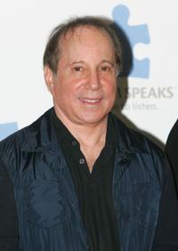 Paul Simon at the press conference of