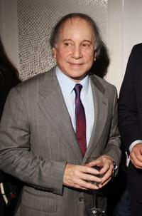 Paul Simon at the screening of