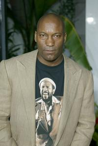 John Singleton at the premiere of