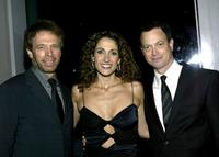 Gary Sinise, Jerry Bruckheimer and Melina Kanakaredes at the premiere screening of