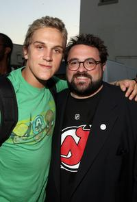 Kevin Smith and Jason Mewes at the opening night of