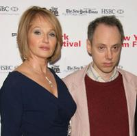 Ellen Barkin and Todd Solondz at the screening of