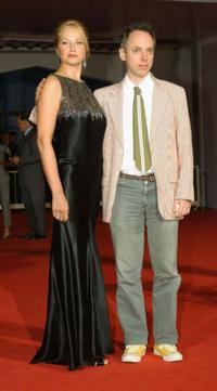 Ellen Barkin and Todd Solondz at the premiere of