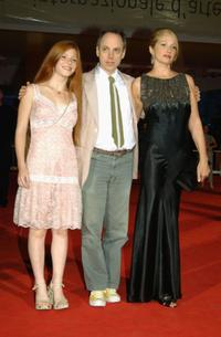 Hannah Freiman, Todd Solondz and Ellen Barkin at the premiere of