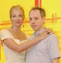 Ellen Barkin and Todd Solondz at the photocall of