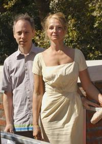 Todd Solondz and Ellen Barkin at the photocall of