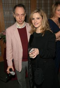 Todd Solondz and Jennifer Jason Leigh at the screening of