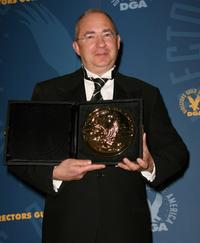 Barry Sonnenfeld at the press room at the 60th annual DGA Awards held at the Hyatt Regency Century Plaza Hotel.