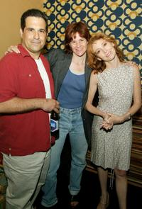 Tony Spiridakis, Alley Sheedy and Wendy Makkena at the wrap party of