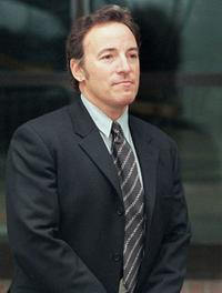 Bruce Springsteen at the High Court in London.