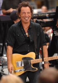 Bruce Springsteen at the NBC's
