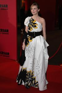 Isabelle Carre at the Cesar Film Awards 2008.