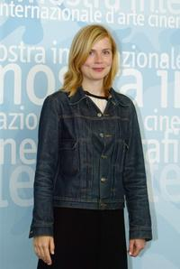 Isabelle Carre at the 60th Venice Film Festival.