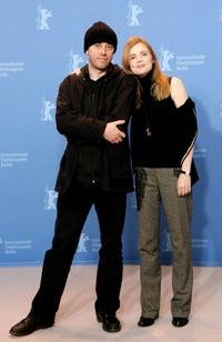 Michel Spinosa and Isabelle Carre at the photocall of