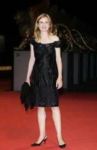 Isabelle Carre at the premiere of
