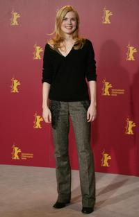Isabelle Carre at the photocall of