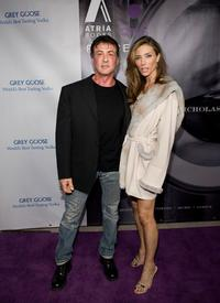 Sylvester Stallone and Jennifer Flavin at the book party for