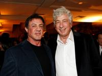 Sylvester Stallone and Avi Lerner at the Avi Lerner's Birthday Bash.