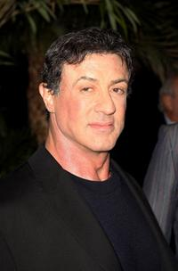 Sylvester Stallone at the UK premiere of