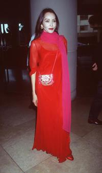 Barbara Carrera at the musical celebration honoring Liza Minnelli.