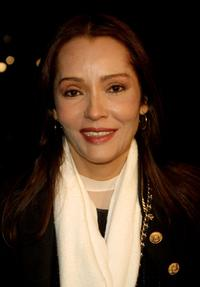 Barbara Carrera at the premiere of