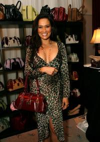 Tia Carrere at the Distinctive Assets Gift Lounge held during Andre Agassi's 12th Annual Grand Slam for Children.