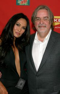 Tia Carrere and Matt Groening at the Spike TV's 2007