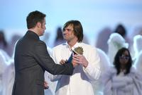 Jim Carrey at the 2006 MTV Movie Awards accepts the