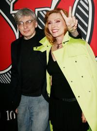 Chris Stein and Deborah Harry at the Rolling Stone Magazine's 1000th cover celebration.