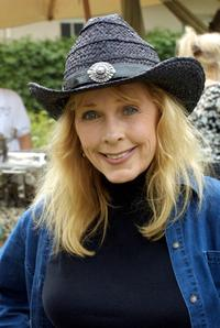 Stella Stevens at the Eight Annual Wildlife Waystation Safari Brunch Fund raiser.