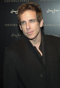 Ben Stiller at the Sean John fragrance release party in New York City.
