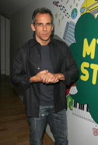 Ben Stiller at the MTV Times Square Studios in New York City.