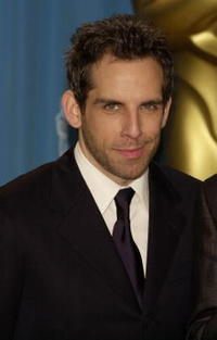 Ben Stiller at the 73rd Annual Academy Awards in Los Angeles.